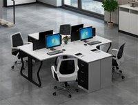 مكتب أثاث المكاتب الحديث مكتب الموظفين مريح مكتب مكتب مبيعات مكتبية بسيطة مبيعات المصنع مباشرة
