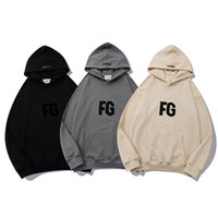 2021 high quality Mens and womens hoodies Leisure fashion trends fear of FG god fog essentials men women designer tracksuit new tops