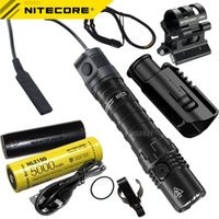 Flashlights Torches Nitecore MH12S Rechargeable + NTR10 Tactical Ring+GM02MH Gun Mounts+ RSW3 Remote Switch+ 5000mAh Battery