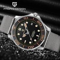 New Pagani Design Top Brands Black Men Relojes Menores de lujo Reloj de pulsera Pulsera de acero inoxidable Hombre Reloj Hombre Reloj Reloj Hombre