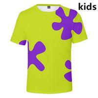 Men's T-Shirts 3 To 14 Years Kids T Shirt 3D Anime Boys Girls Fashion Cartoon Streetwear Tshirt Tee Childrent Clothes