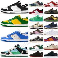 2021 Dunk Tıknaz Dunky Düşük Erkek Kadın Koşu Ayakkabıları Üniversitesi Kırmızı Yeşil Ayı Siyah Beyaz Syracuse Safari Bayan Spor Sneakers Boyutu 36-45