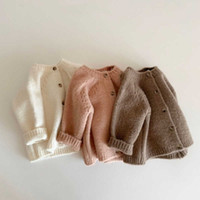 Bear Leader Baby Boys Girls Knitting Autumn Winter Cardigans Knitted Sweaters Coats Infant Outerwear Newborn Knitwear 0-2y G0908