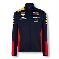 FORMULA DE FORMULA UNO POLIÉSTER SECAJE DE RACIDO RACIDO Sudadera de manga larga Traje de equipo 2020 McLaren MCL35 Suéter chaqueta con la misma costumbre