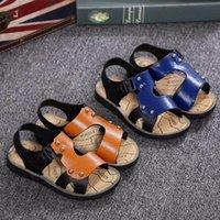 Sandals 2021 Summer Beach Boy Kids Fashion Sport Sandal Children For Boys Leather Casual Shoes