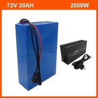 2500W 72V 20AH литиевая батарея 20S 72V 15AH 18AH электрический велосипедный аккумулятор 3,7 В 2600 мАч 18650 Cell 40A BMS и 2A зарядное устройство