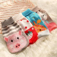 Dog Apparel Knitted Clothes Winter Sweater Puppy Pet Costume For Dogs Pets Clothing Christmas Outfits Pullover Chihuahua Yorkie