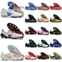 2021 Chegada Mens Soccer Shoes Morelia Neo II FG Cleaves de Futebol Tacos de Futbol Botas de couro