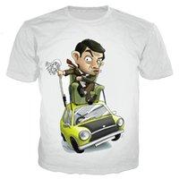 Men's T-Shirts 2021 Slae Mr. Bean Men women 3D Printed Fashion Harajuku Short Sleeve Style Tshirt Streetwear Tops
