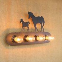 Duvar Lambası Tasarımcı Endüstriyel Stil Mektup Işareti Hayvan Işık Aplik Fikstür Aydınlatma Başucu Bar Kahve Dükkanı