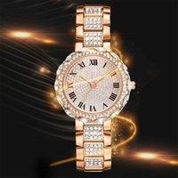 Orologi di lusso della donna Orologio dell'orologio dell'orologio dell'orologio dell'orologio in acciaio inossidabile dell'orologio dell'orologio dell'orologio delle donne impermeabili delle donne Orologio da polso da donna delle donne