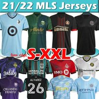 2021 2022 Los Montreal La Lafc Soccer Jerseys Galaxy Inter Minnesota ميامي 21 22 أتلانتا United York FC City Portland مخصص MLS كرة القدم قمصان