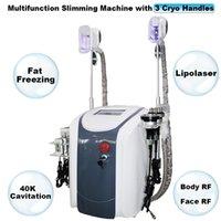 Fett einfrieren Lipolaser Kavitation RF Körperablehnungsmaschine Cellulite-Entfernung Einfrieren Schönheitsausrüstung Ultraschall Vakuum Gewichtsverlustsystem