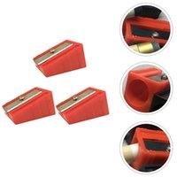 3 stücke Cue Tip Trimmer Tragbare Billardformer (zufällige Farbe) Bälle