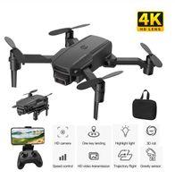 Дрон 4K HD камера S60 RC самолет Профессиональная воздушная фотография вертолет 1080P-HD широкая угол-камера Wi-Fi для передачи изображения CHI