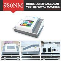 Портативный 980nm Spider Vein Удаление машины для удаления диодной лазерной сосудистой терапии с двумя годами свободной гарантии