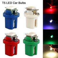 Аварийные огни 10 шт. T5 LED Автомобильные Приборы Панели Лампы Low Power Автомобильный Переключатель Лампа 12 В