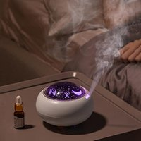 Humidifiers USB Essential Oil Diffuser Ultrasonic Air Humidifier 220ML Mist Maker Projection Lamp Purifier Aromatherapy For Home