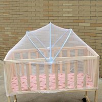 Crib Netting Baby Bedding Yurt Universal Babies Cradle Bed Mosquito Nets Mesh Dome Curtain Net For Infant Summer Insect