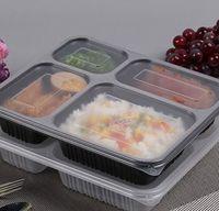1000ml Einweg-Bento-Box-Mahlzeit-Prep Container-Lebensmittelaufbewahrung PP Nehmen Sie Maschinenverpackungsboxen Hohe Qualität Einweg-Bento-Box KKA8347