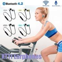 XT11 Wireless Bluetooth Headphones Magnetic Running Fitness Sport Earphones Noise reduction Headset BT 4.2 Earbud For iPhone LG Samsung all Smartphones