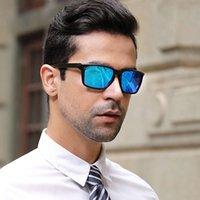 2020 صندوق جديد الاستقطاب النظارات الشمسية الرجال TR90 النظارات الشمسية الرجال الاتجاه في الهواء الطلق الرياضة سائق نظارات 2038
