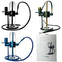 Stundenglass Gravity Bong 3 Colors Water Hookahs Kit Blue Glass Cookies Oil Rigs Pipes Smoking Accessories For Tobacco Recycler Smoke Bongs Dab Dry Herb Concentrate