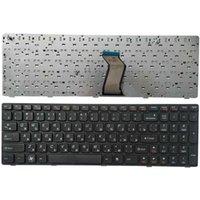 노트북 교체 키보드 러시아어 Lenovo V570 V570C v575 Z570 Z575 B570 B570A B570E V580C B570G B575 B575A B575E B590 B590A RU BLACK