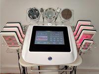 portable 6 in 1 spa salon use diode laser lipo slimming rf cavitation vacuum therapy machine