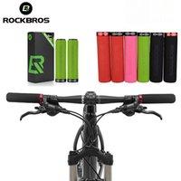 RockBros Bike Guidão MTB Guiador de Esponja Grips Anti-Skid Absorbação de Bicicleta Soft Absorvetes Ultralight Ciclismo Acessórios