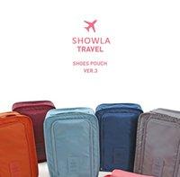 Многофункциональный полиэстер Путешествия упаковка сумка складной путешествия сумка для хранения обуви простая водонепроницаемая сумка для хранения (6 цветов) My-Inf0672 106 S2