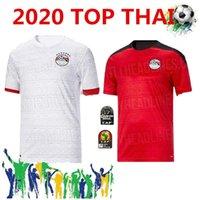 Calidad tailandesa 2020 Nuevo Egipto M. Salah Jerseys de fútbol Inicio 20 21 Kahraba A. Equipo nacional de Hegazi Ramadan Camisa de fútbol