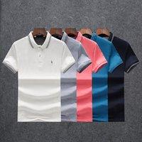 2021Fashion Designer Men Luxury T-shirt Polo Animal Design Casual classic T-shirtSnake Bee letter print embroidery lapel short sleeve shirt M-3XL