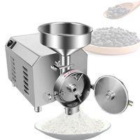 Minillas de café eléctricas para molinos de polvo comercial para molinillo de grano seco SOJABEAN SPICE SPICE FANKER