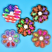 2021 toy Pop Fidget Simple Annoying Dimple Fat Brain Toys Decompression Children's Hand-held Children Adult Early Education Autism Special Needs Five color batch