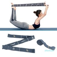 Resistance Bands Yoga Pull Strap Belt Fitness Equipment Exercise Loop Pilates Gym Elastic Latin Dance Stretching Band
