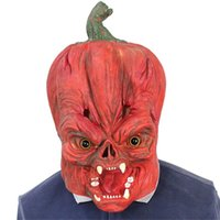 Other Event & Party Supplies Shocker Toys Pumpkin Silicone Face Mask Halloween Cosplay Headgear For Costume Antistress Birthday Xmas Gift