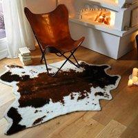 Carpets Soft Tiger Print Areas Rug Non-slip Carpet Bedroom Office Livingroom Floor Mat Home Textile Christmas Decoration For