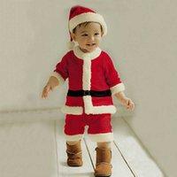 Costume de Noël pour enfants Costume Santa Claus pour enfants Costume Enfants Garçons et filles Bébés Halloween