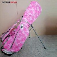 Bolsas de golf 2021 Fashion Canvas Stand Bag Carta Impresión