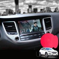 قيادة فيديو عرض سيارة شاشة عرض تعديل التصميم الداخلي سيارة خط سيارة الأصلي لخط سيارة هيونداي توكسون 2015-2018