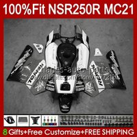 Injektion OEM für Honda NSR250R grau Weiß NSR 250 R MC21 PGM3 103HC.231 NSR 250R NSR250 1990 1991 1992 1993 NSR250RR 90 91 92 93 Verkleidung