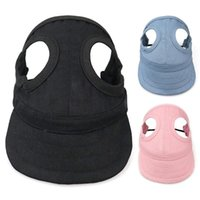 Dog Apparel Pet Cat Hats Outdoor Sunbonnet For Birthday Gifts Puppy Mini Solid Cap Baseball Costume Accessories