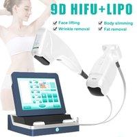 9D lipo hifu body slim machine face slimming ultrasound liposonix machines 10 cartridges 2 handles