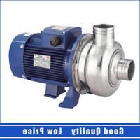 BK200 Yarım Açık Çark Paslanmaz Çelik Su Pompası ULQNV
