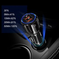 Fast Useful Car Charger Dual Usb Adapter For IPhone Samsung Smart Phone Universal