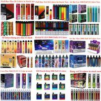 Randm Leo Cigarettes Bang XXL Pro Max Puff Plus Voro Air Bar Lux hasta 800,1000,1600,2000, 3000,5000 Puffs Recarger de Vape Desechable vs GunnPod