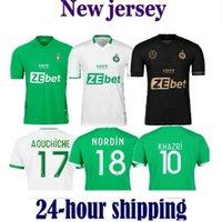 2021 Mailleot de Foot as Saints-Étienne Soccer Jersey Man Kids Kit Youssouf 21 22 St Etienne Khazri Boudebouz Aholou ASSE 2022 قميص كرة القدم