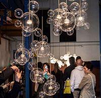 Современная Светодиодная лампа Светодиодный Подвесной Свет Стеклянный Глобус Светодиодная Подвесная Лампа Светильники Крытый Освещение Luster Luminaria Suspend Лампу