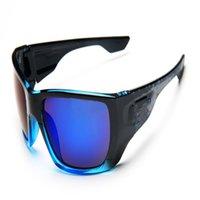 남자 스포츠 위장 선글라스 여성 패션 야외 자전거 안경 8 색